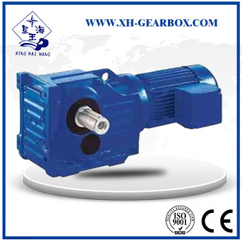 K series helical bevel gear motor